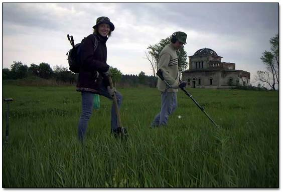 Vadim's First Time Metal Detecting