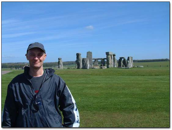 Sergei At Stonehenge