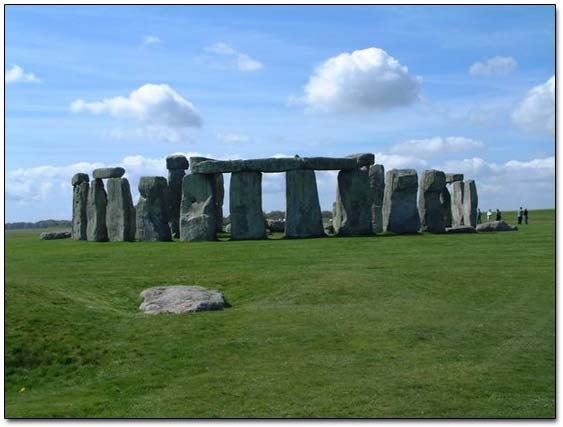 Ancient Stonehenge Site