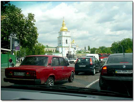 Traffic Jams in Kiev