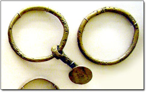 pendant Rings in Museum