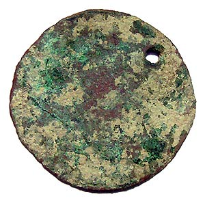 Medieval Holed Coin