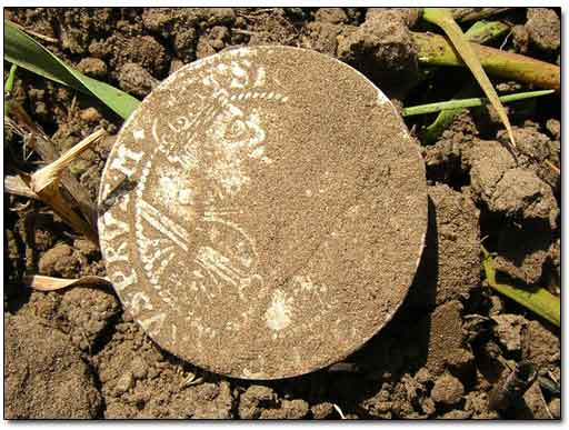 Large Medieval Silver Coin