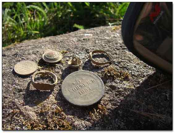Finds Detected By Minelab Explorer