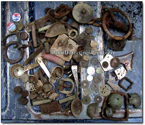 Metal Detecting Finds Made on Trip to Taconic Range Mountains