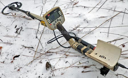Tim's Minelab Explorer II with Sunray Electronic Probe