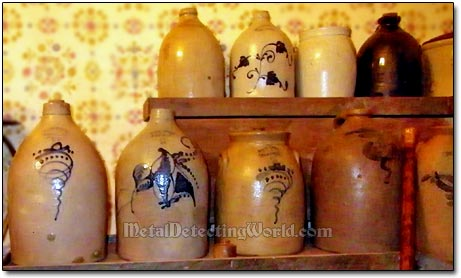 West Troy Stoneware Collection - Jugs and Crocks, ca. 19th Century