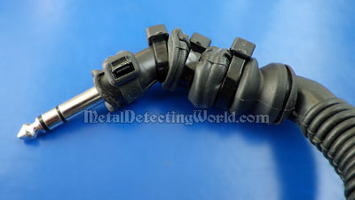 Cable's Terminal with 1/4-inch Male Plug of Adapter