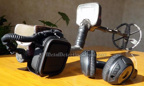 Metal Detector is Ready for Headphone Wireless Operation