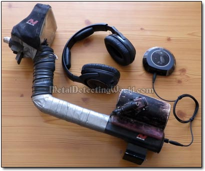 Use Cordless Headphones To Make Metal Detecting Operation Wireless