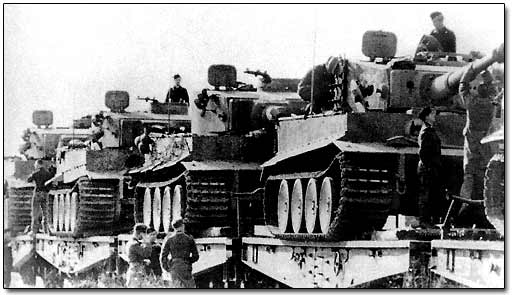 German New Tanks Arrive at the Front