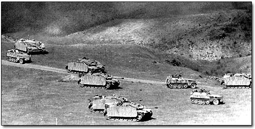 German Panzer Division Near Kursk