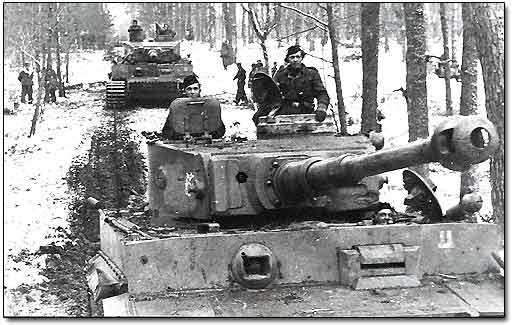 German Panzer Division Near Moscow