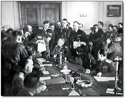 Signing Capitulation of Germany