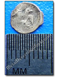 The Tiniest Silver Hammered Coin - Polushka