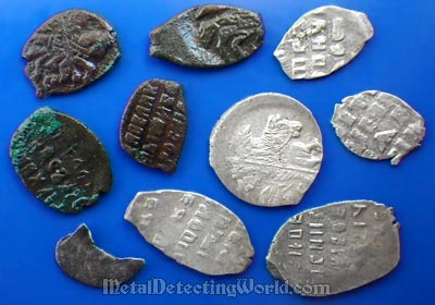 XP Deus Finds Hammered Bronze and Silver Coins