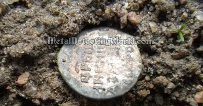 One Iffy Signal Turned Out To Be A Silver Hammered Coin in Mineralized Ground
