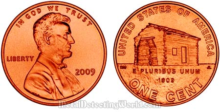 Abraham Lincoln Bicentennial One Cent Coin